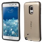 IFACE Υβριδική Θήκη Συνδυασμού Πλαστικού και Συλικόνης TPU για Samsung Galaxy Note Edge SM-N915 - Σαμπανιζέ