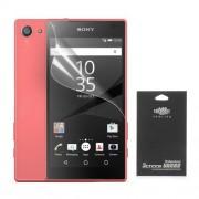 Διάφανη Μεμβράνη Προστασίας Οθόνης για Sony Xperia Z5 Compact (σε Μαύρη Συσκευασία)