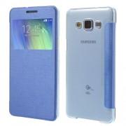 Δερμάτινη Θήκη Βιβλίο Smart Cover για Samsung Galaxy A5 SM-A500F - Μπλε