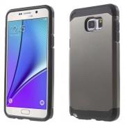 TPU + PC Detachable Phone Cover for Samsung Galaxy Note 5 N920 - Grey
