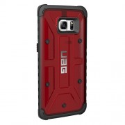 UAG Hard Composite Case for Samsung Galaxy S7 Edge - Magma/Black