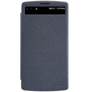 NILLKIN Sparkle Series Δερμάτινη Θήκη Βιβλίο Smart Cover για  LG V10 - Μαύρο