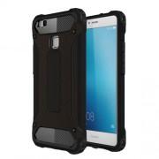 Armor Guard Plastic + TPU Shield Case for Huawei P9 Lite / G9 Lite - Black