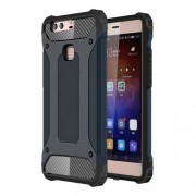 Armor PC TPU Combo Phone Shell for Huawei P9 Plus - Dark Blue