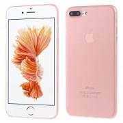 Σκληρή Θήκη Πολύ Λεπτή 0,3mm Ηιμιδιάφανη Ματ για iPhone 7 Plus / 8 Plus - Ροζ