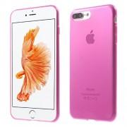 Θήκη Σιλικόνης TPU Πολύ Λεπτή για  iPhone 7 Plus - Φούξια