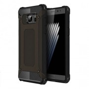 Armor Guard Plastic + TPU Hybrid Case for Samsung Galaxy Note7 SM-N930 - Black