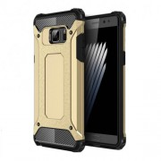 Armor Guard Plastic + TPU Hybrid Case Cover for Samsung Galaxy Note7 SM-N930 - Gold