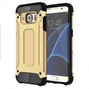 Υβριδική Θήκη Σιλικόνης TPU σε Συνδυαμό με Πλαστικό για Samsung Galaxy S7 Edge G935 - Χρυσαφί