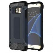 Υβριδική Θήκη Σιλικόνης TPU σε Συνδυαμό με Πλαστικό για Samsung Galaxy S7 Edge G935 - Σκούρο Μπλε