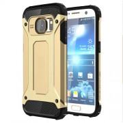 Υβριδική Θήκη Σιλικόνης TPU σε Συνδυαμό με Πλαστικό για Samsung Galaxy S7 G930 - Χρυσαφί