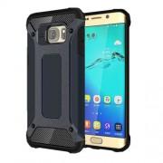 Υβριδική Θήκη Σιλικόνης TPU σε Συνδυαμό με Πλαστικό για Samsung Galaxy S6 Edge Plus G928 - Σκούρο Μπλε