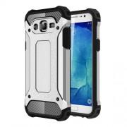 Armor Guard Plastic + TPU Hybrid Shell for Samsung Galaxy J5 SM-J500F - Silver