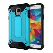 Armor PC TPU Back Case for Samsung Galaxy S5 G900 - Baby Blue