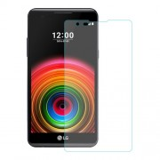 For LG X Power Tempered Glass Screen Protector Film 0.25mm (Arc Edge)