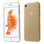 For iPhone 7 4,7 Inch 0,3mm Hard Shell PC Back Case - Gold