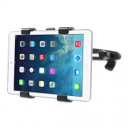 Universal X Type Headrest Mount Holder for 7-11 inch Tablet PCs, 360 Degree Rotation