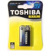 Toshiba Μπαταρία Αλκαλική Πλακέ 9V 6LF22 BP1