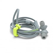 Headphone Coloud No 4 Στερεοφωνικά Ακουστικά με Μικρόφωνο Μαγνητικά  - Γκρι/Κίτρινο