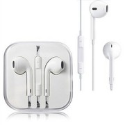 Headphone Earphone with Mic GNG - White