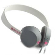 Headphone Coloud Knock Blocks Στερεοφωνικά Ακουστικά με Μικρόφωνο - Γκρι/Κόκκινο/Γκρι Ανοιχτό