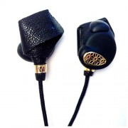 Molami Bight Headphone Earphone with Mic - Black on Black