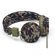 Urbanears EDITION Plattan Headphone Earphone with Mic - Surplus Leo