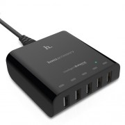HOCO UH501 Intelligent Balance 5 USB Ports 8A Smart Wall Charger