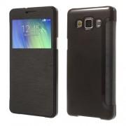 Δερμάτινη Θήκη Βιβλίο Smart Cover για Samsung Galaxy A5 SM-A500F - Μαύρο