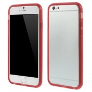 Flexible TPU Bumper Frame for iPhone 6 / 6s - Red