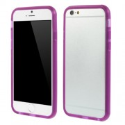 For iPhone 6 / 6s Soft TPU Bumper Frame Cover - Purple