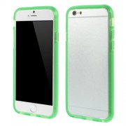 For iPhone 6 / 6s Soft TPU Bumper Shell Case - Green