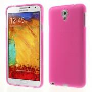 Θήκη Συλικόνης TPU Ματ για Samsung Galaxy Note 3 Lite N750 / Neo N7500 N7505 - Φούξια