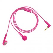 Happy Plugs Earbud Earphone with Mic - Cerise