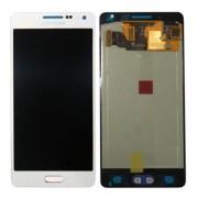 Γνήσια Samsung Οθόνη LCD και Μηχανισμός Αφής για Samsung Galaxy A5 SM-A500F - Ασημί (GH97-16679C)