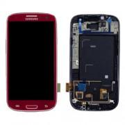 Γνήσια Samsung Οθόνη LCD & Μηχανισμός Αφής για Samsung Galaxy S3 i9300 - Κόκκινο (GH97-13630C)