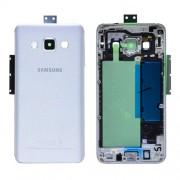 Γνήσιο Samsung Πίσω Κάλυμμα για Samsung Galaxy A3 SM-A300F - Ασημί (GH96-08196C)