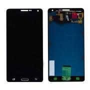 Γνήσια Samsung Οθόνη LCD και Μηχανισμός Αφής για Samsung Galaxy A7 SM-A700F - Μαύρο (GH97-16922B)