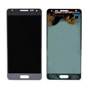 Γνήσια Samsung Οθόνη LCD και Μηχανισμός Αφής για Samsung Galaxy Alpha SM-G850F - Ασημί (GH97-16386E)