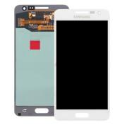 Γνήσια Samsung Οθόνη LCD και Μηχανισμός Αφής για Samsung Galaxy A5 SM-A500F - Λευκό (GH97-16679A)