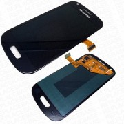 Γνήσια Samsung Οθόνη LCD & Μηχανισμός Αφής για Samsung Galaxy S3 Mini i8190 - Μαύρο (GH97-14204C)