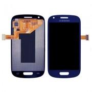 Γνήσια Samsung Οθόνη LCD και Μηχανισμός Αφής για Samsung Galaxy S3 Mini i8190 - Μπλε (GH97-14204B)