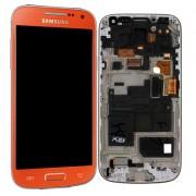 Γνήσια Samsung Οθόνη LCD & Μηχανισμός Αφής για Samsung Galaxy S4 Mini - Πορτοκαλί (GH97-14766H)