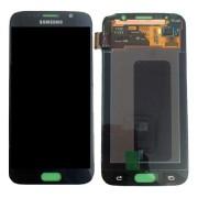 Γνήσια Samsung Οθόνη LCD και Μηχανισμός Αφής για Samsung Galaxy S6 SM-G920F - Μαύρο (GH97-17260A)