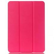 Δερμάτινη Θήκη Βιβλίο Tri-fold με Βάση Στήριξης για Samsung Galaxy Tab S2 9.7 T810 T815 - Φούξια