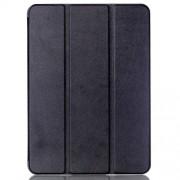 Δερμάτινη Θήκη Βιβλίο Tri-fold με Βάση Στήριξης για Samsung Galaxy Tab S2 9.7 T810 T815 - Μαύρο