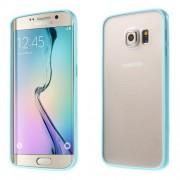 TPU and PC Cover for Samsung Galaxy S6 Edge G925 - Blue