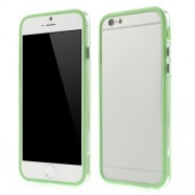 For iPhone 6s 6 4,7 inch PC + TPU Bumper Shell Cover - Green