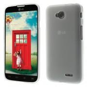 Θήκη Σιλικόνης TPU Ματ για LG L70 DUAL SIM D325 - Λευκό