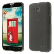 Θήκη Σιλικόνης TPU Ματ για LG L70 DUAL SIM D325 - Γκρι